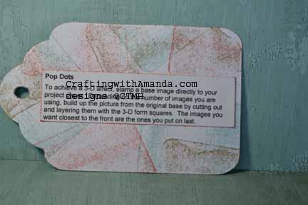 craftingwithAmanda.com Technique Tags