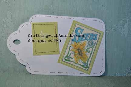 CraftingwithAmanda.com  Faux Stitching
